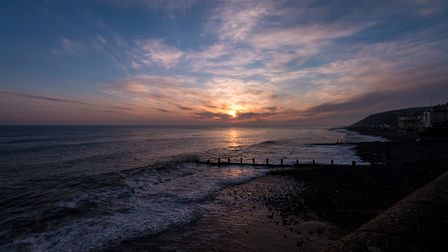 A frosty start to the day, but well worth braving the cold to witness the sunrise over Cromer pier.