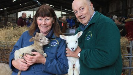 Wendy and Graham Williams, who are hosting a series of open days at their farm on the Felbrigg estat