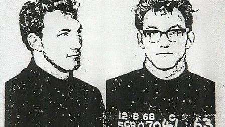 Photographs of Robert Black, taken seven months before April Fabb's disappearance in April, 1969. Pi