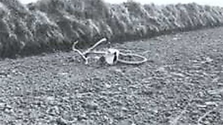 April Fabb's bicyle was found in a field on the Metton to Roughton Road.