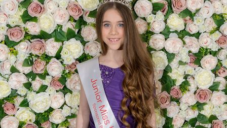 Lily Harfield, aged 9, from North Walsham has been crowned Junior Miss UK. Picture: Stacy Harfield