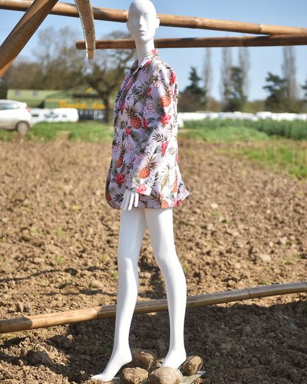 Mannequin sculpture at Alby.Picture: ANTONY KELLY