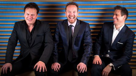 Tenors Unlimited will perform at Cromer pier. Picture: Supplied by Jackie Mitchell