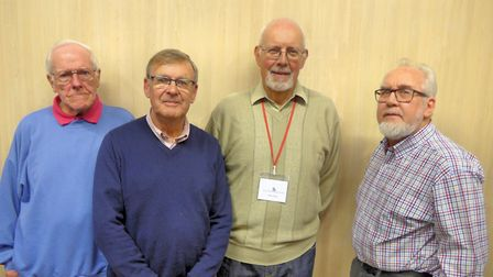 Judges and chairs. L-R, Jim Till - Brancaster Camera Club, Malcolm Edwards - North Norfolk Photogr