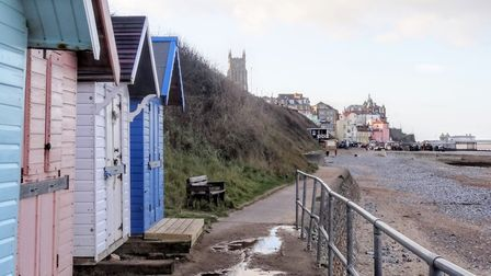 Had a walk along the east prom after some rain recently, Cromer still looking good. Photo: Steve Jam