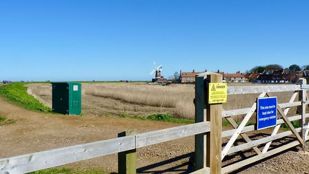 Views showing the area around Cley after the removal of the overhead lines. Picture: UK Power Netwo