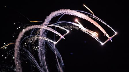 The team from Aerosparx are getting ready to put on a dazzling display at Blickling. Picture: MICHAL