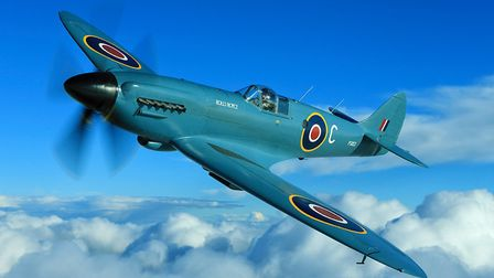 The PS853 Spitfire will also be a part of the Great British Prom at Blickling. Picture: JOHN M DIBBS