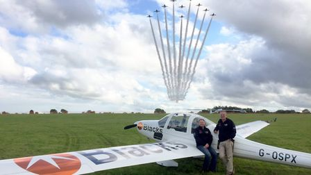 The team from Aerosparx are getting ready to put on a dazzling display at Blickling. Picture: AEROSP