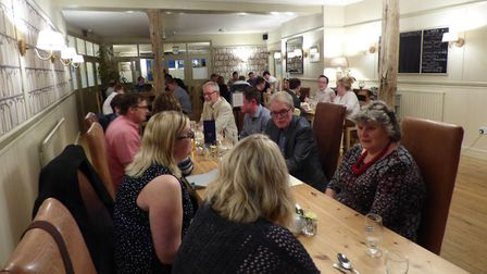 Local Supplier Dinner Guests (The Feathers Hotel, Holt) Picture: Alexa King