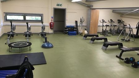 The new Stalham community gym. Pictures: Jenny Smith