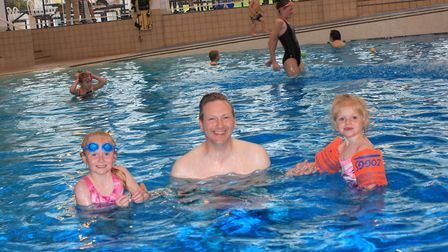 Fun for all the family at the 30th anniversary celebrations of Sheringham Leisure Centre Splash. Pho