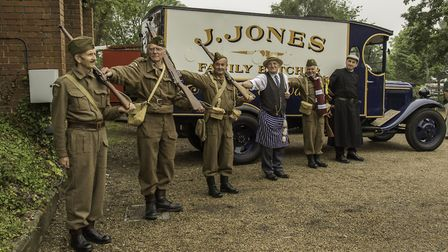 Dad's Army's 50th anniversary will be marked on the North Norfolk Railway. Picture: Courtesy the NNR
