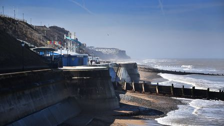 Cromer Pier, promenade and sea front.Picture: ANTONY KELLY
