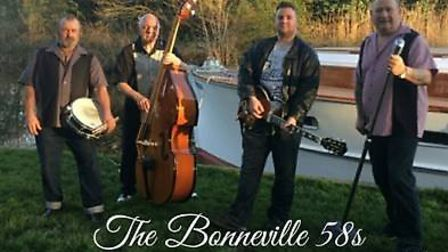 Stalham fringe festival. The Bonneville 58s. Pictures: Supplied by Di Cornell