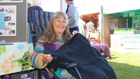 Gansey knitting with Rita Taylor Photo: KAREN BETHELL