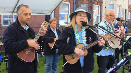 The Seaside Strummers entertaining crowds at CromerPhoto: KAREN BETHELL