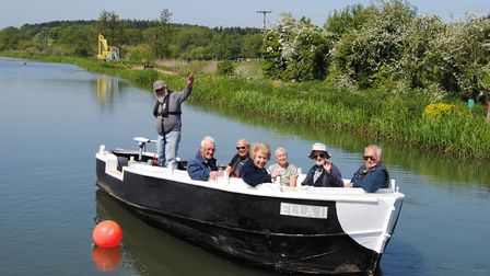 Ella II. Picture: North Walsham and Dilham Canal Trust (NW&DCT).