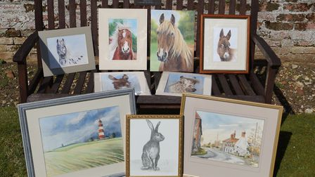 Redwings' annual art sale. Pictures: Redwings