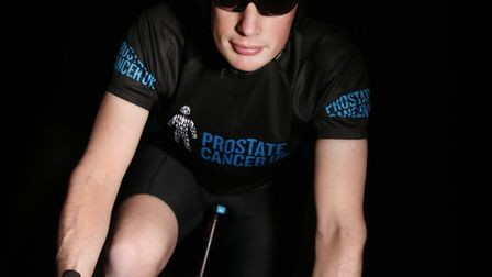 Steven Burbidge is preparing for a charity cycle. Picture: SUPPLIED BY STEVEN BURBIDGE