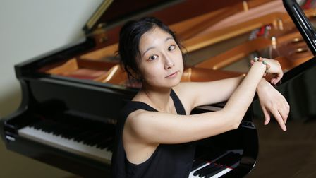 Pianist Maki Sekiya, who will be performing at St Andrew's Church, Holt on May 12. Photo: MAKI SEKIY