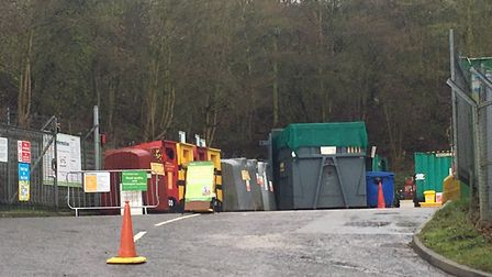 Charges for DIY waste at recycling centres across Norfolk started on April 1. Picture: STUART ANDERS