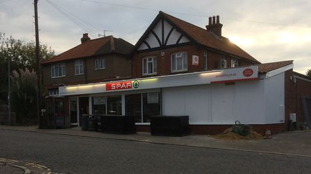 The Spar in Mill Road, Overstrand. Picture: Andy Mills
