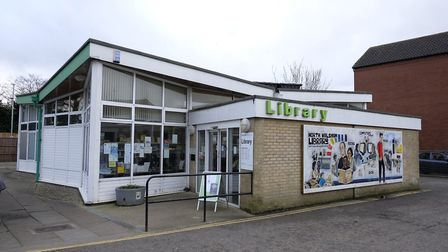 North Walsham library. Picture: MARK BULLIMORE