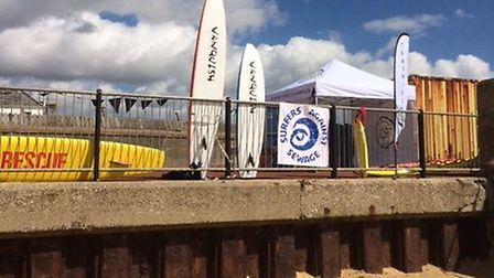 Sheringham is hoping to achieve plastic-free status as part of a Surfers Against Sewage campaign Pho