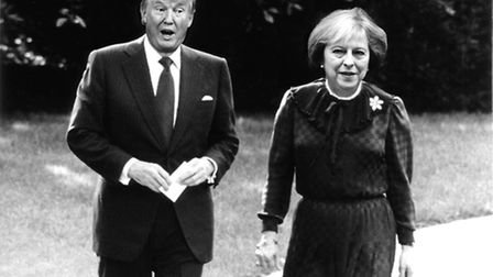 Mr Trump and Mrs May's special relationship