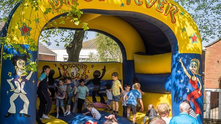 Children's Day in North Walsham on Monday 7th May 2018. Photo: John Newstead