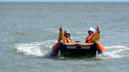 Sea Palling independent lifeboat. Picture: MARK BULLIMORE