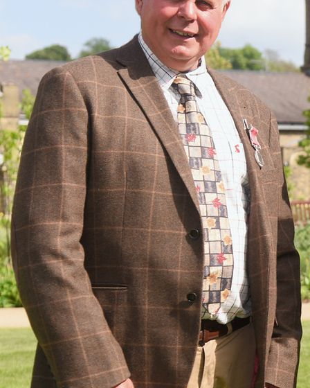 Alan Witham who has been awarded the British Empire Medal for services to the community in Erpingham