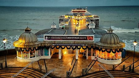 A fundraiser will take place on Cromer Pier. Picture: ALAN HATTON