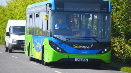 The Coasthopper bus route has been saved. Picture: Ian Burt