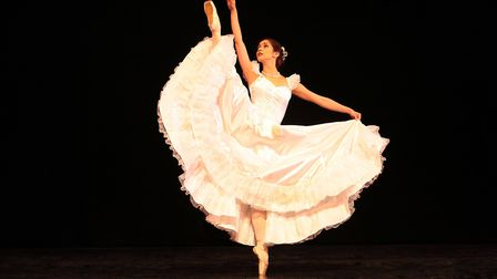 Principle dancer Samantha will play Cinderella. Picture: Peter Mares