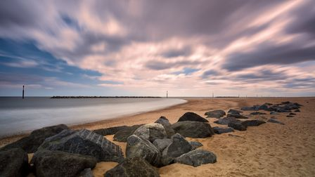 Sea Defences at Sea Palling, Norfolk Coastline. Photo: JP Appleton