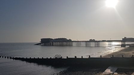 A calm Cromer Saturday morning in April. Photo: Laurie Scott