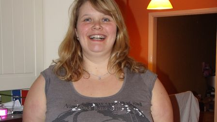 Nicola Fleming before her weight loss journey. Picture: Nicola Fleming