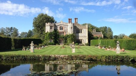 Mannington Hall. Pictures: supplied by Rachel Clarke