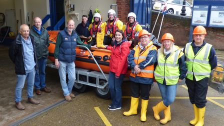 The Cromer RNLI team. Picture: Cromer RNLI