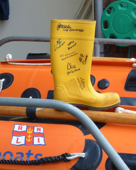 The Welly which will be travelling the coast. Picture: Cromer RNLI