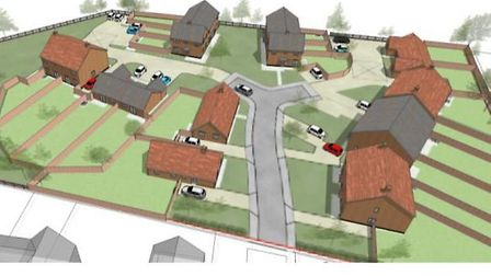 A view of the proposed development. Image: RICHARD PIKE ASSOCIATES/DESIGN AND ACCESS STATEMENT