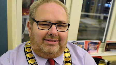 David Pritchard made his first outing as Mayor when he attended Sister Act. Picture: Andreas Yiasimi