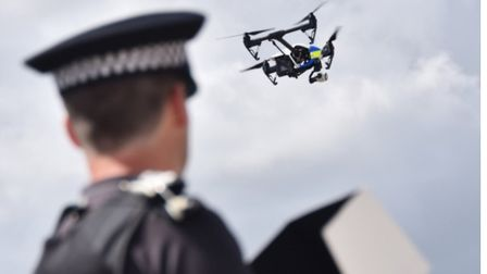 Did you see a drone in the Westwick area? PHOTO: Norfolk Police.