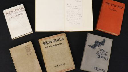 Ghost writer M R James features in first editions book sale at Keys. Pictures: supplied by Andy Newm