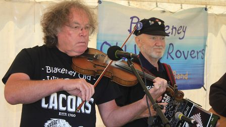 The Old Wild Rovers performing at North Norfolk Country FairPhoto: KAREN BETHELL