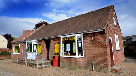 The Three Cottages Fish Shop in North Walsham.PHOTO: ANTONY KELLY