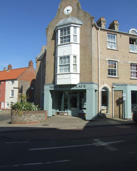 Merchant's Place in Cromer. Picture: Submitted