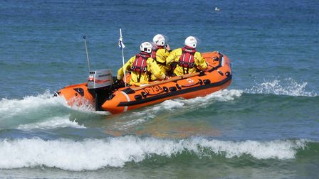 A lifeboat. Picture: Cromer RNLI